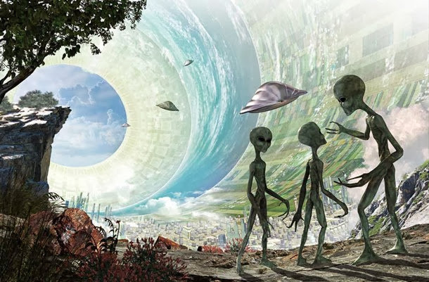 terra cava alieni vivono sulla terra