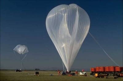 bufala sugli alieni pallone sonda