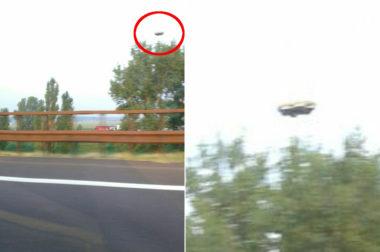 Famiglia diretta a mirabilandia e testimone di un avvistamento UFO