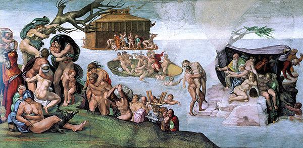 Il diluvio universale nella bibbia