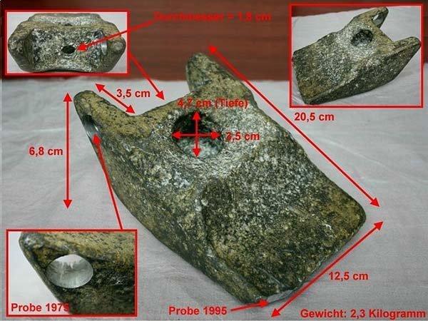 misure cuneo di alluminio di Aiud