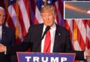 UFO nel cielo il giorno della vittoria di Donald Trump alle elezioni USA