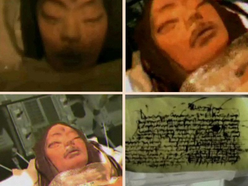 Corpo umanoide di donna ritrovato chiamata Mona Lisa
