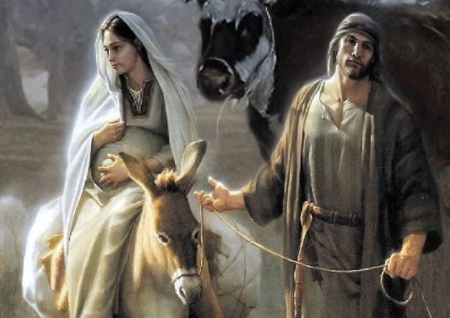 Profezia isaia sul messia, maria e giuseppe