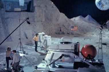 Prove secondo le quali lo sbarco sulla luna potrebbe essere un inganno