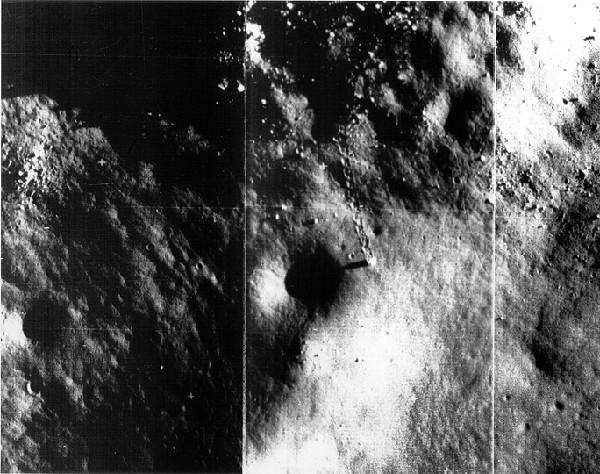 forme geometriche sulla luna