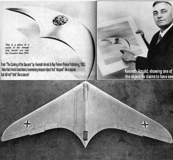 Kenneth Arnold e il gli avvistamenti ufo