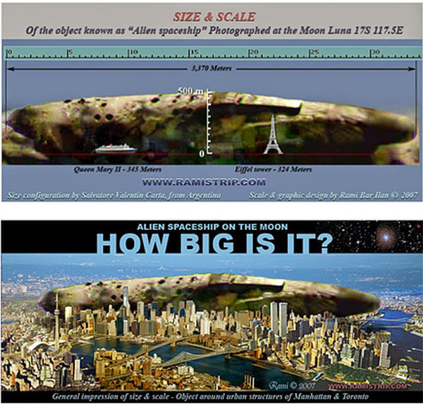 nave aliena dimensioni