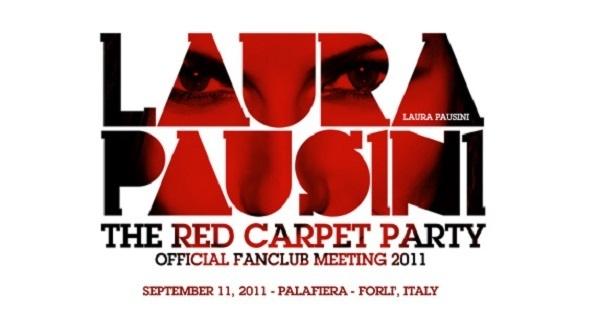 Logo del Red Carpet Party in onore di Laura Pausini.