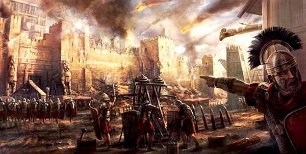 assedio dei romani abbiamo inventato gesù cristo