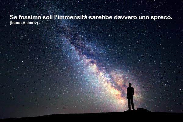 non siamo soli nell'universo