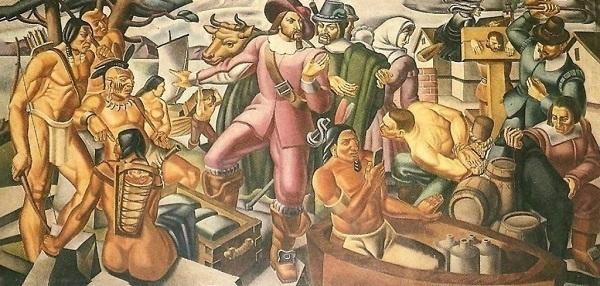 dipinto umberto romano 1937
