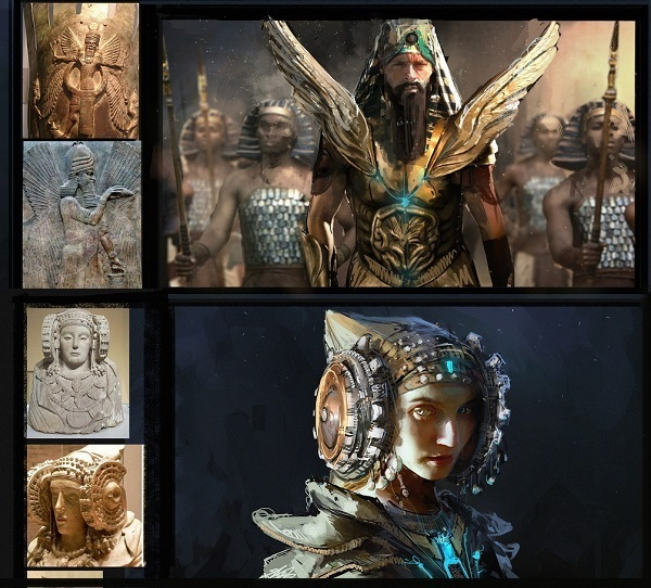 Enki era il custode dei poteri divini chiamati Me, i doni della civiltà.