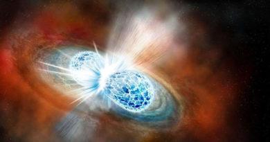 Stelle di Neutroni si scontrano