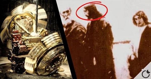 Gesù fotografato con la macchina del tempo