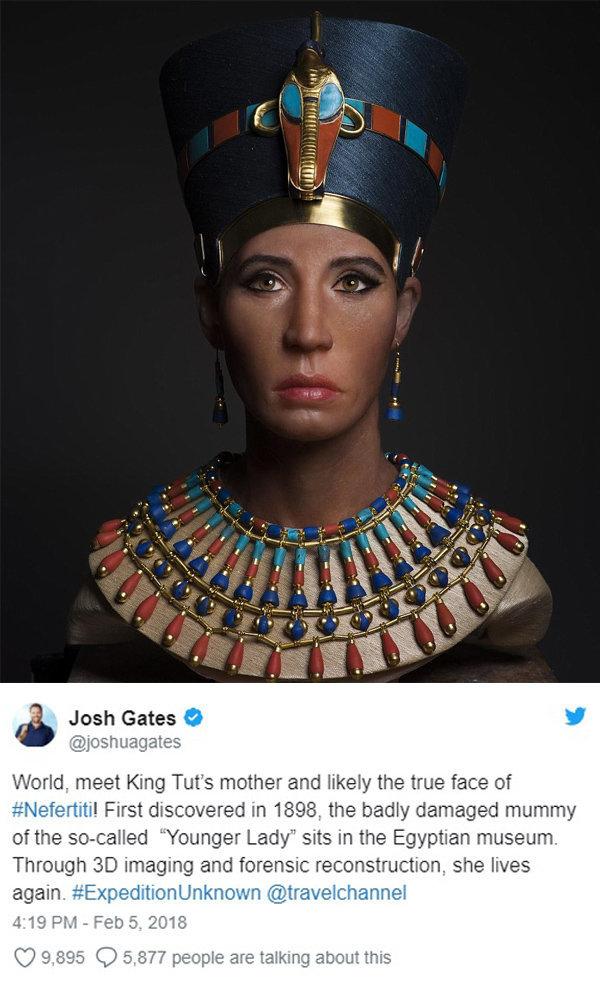 twit Nefertiti