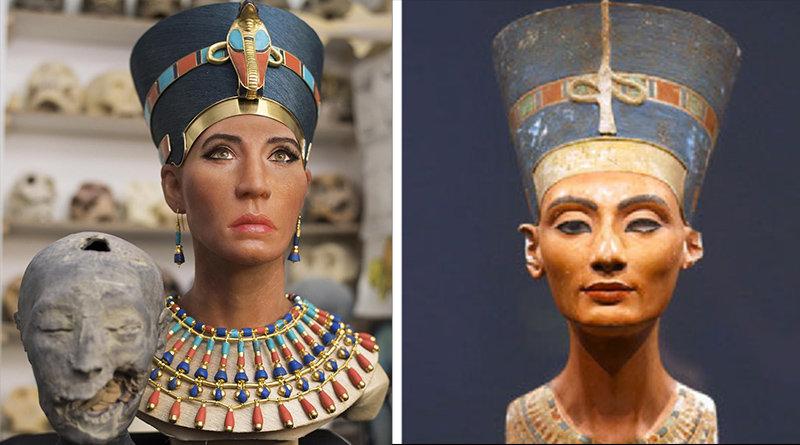 Regina Nefertiti: polemiche sulla nuova ricostruzione del volto in 3D