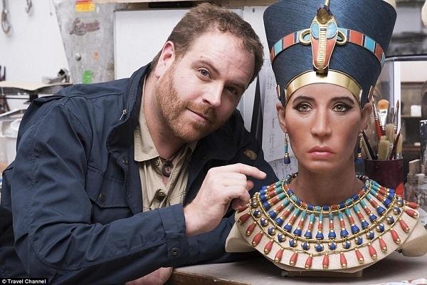 Il nuovo modello 3D della regina Nefertiti