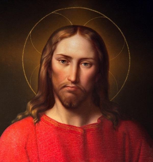 Una delle tante rappresentazioni di Gesù.