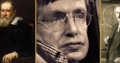 Connessione cosmica? Il legame misterioso tra Hawking, Einstein e Galileo