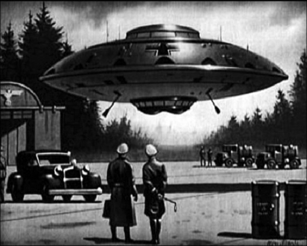 immagine dischi volanti nazisti