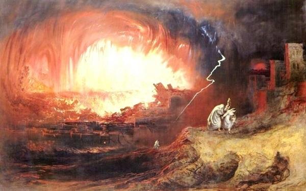 distruzione Sodoma e Gomorra