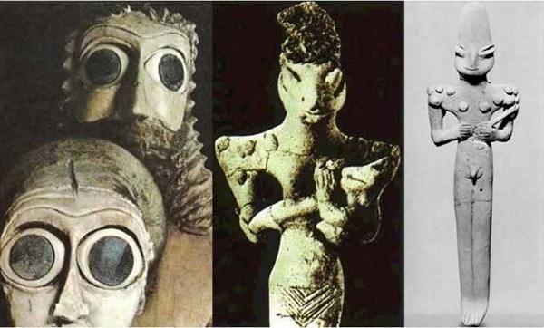 rettiliani nella mitologia