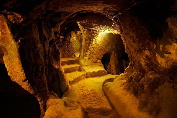 rovine sotterranee Derinkuyu