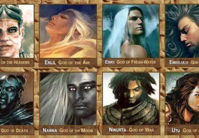12 degli Dei più prominenti dell'antica Mesopotamia