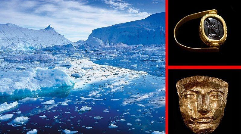 La storia dell'antico Impero Romano scritto nell'artico