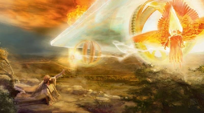 """La Bibbia, le macchine volanti e come Enoch e il profeta Elia furono """"portati ai cieli"""""""