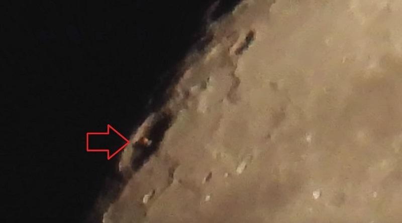 """UFO Hunter """" Struttura Aliena"""" nel mezzo di un cratere lunare"""