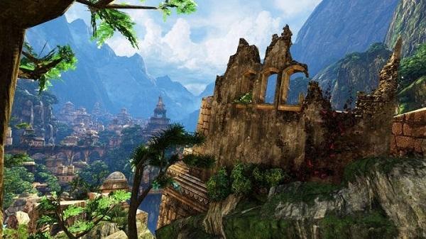 Montagne e pianure sotto la superficie della terra