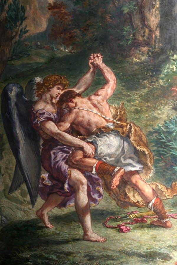 Lotta di Giacobbe con l'angelo