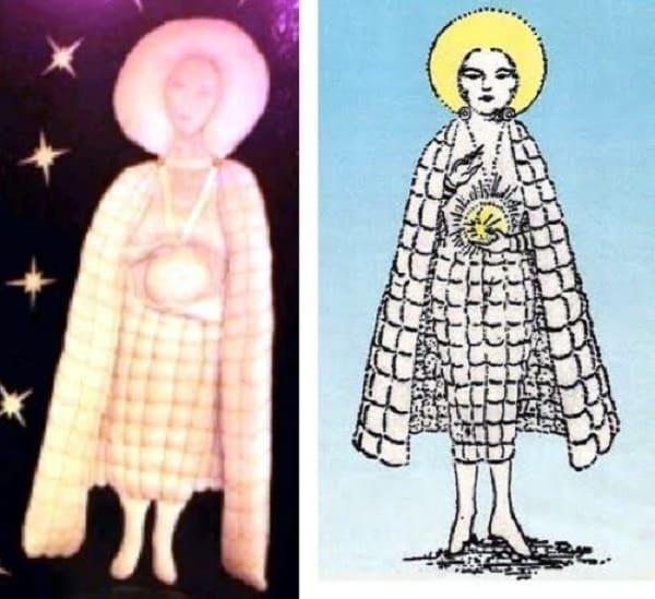 Prime descrizioni Vergine di Fatima