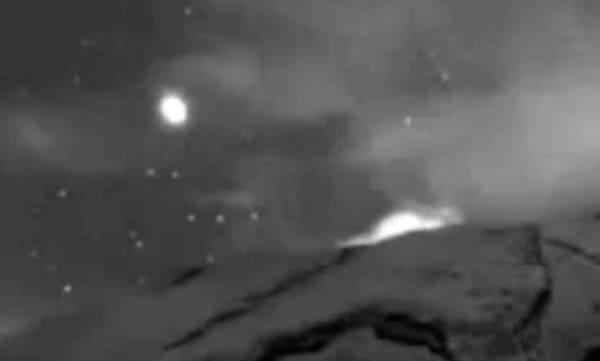 ufo vulcano messico 2020