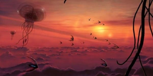 vita nell'atmosfera di Venere 3
