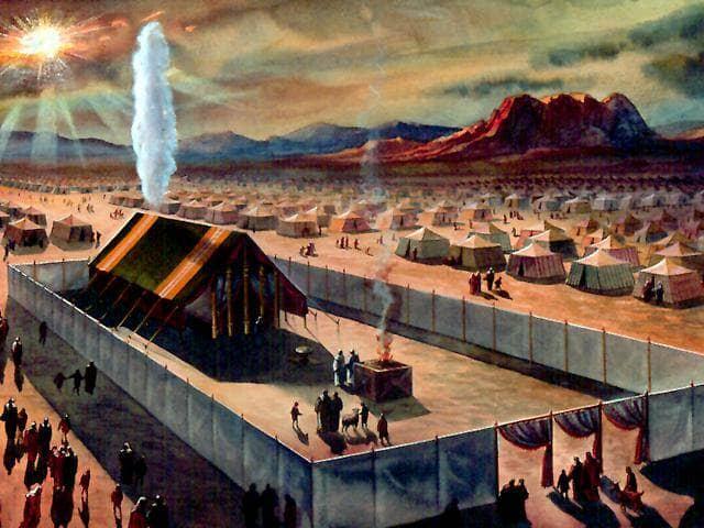 Mosè-nuvola sul tabernacolo 2