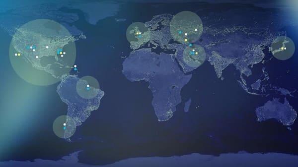 ufo mappa